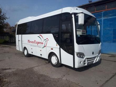 30 местни автобуси - Плевен Експрес ЕООД