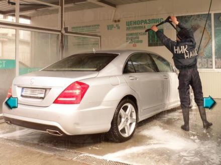 Почистване на автомобили с водоструйка и активна пяна във Варна - Автомивка Свежест