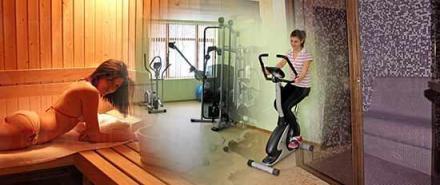 Сауна, фитнес и парна баня от Хотелски комплекс Предел в Разлог - Предел