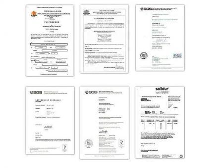 Сертификати на фирма Имплант Г в Етрополе - Имплант Г ООД