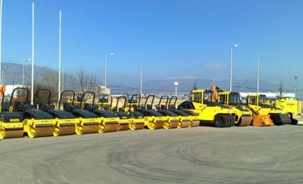 Търговия със строителни машини и техника в Сливен - Меркури Инвест ЕООД