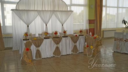Украса на ресторант и събития в Добрич и Варна - Сватбена агенция Уникална