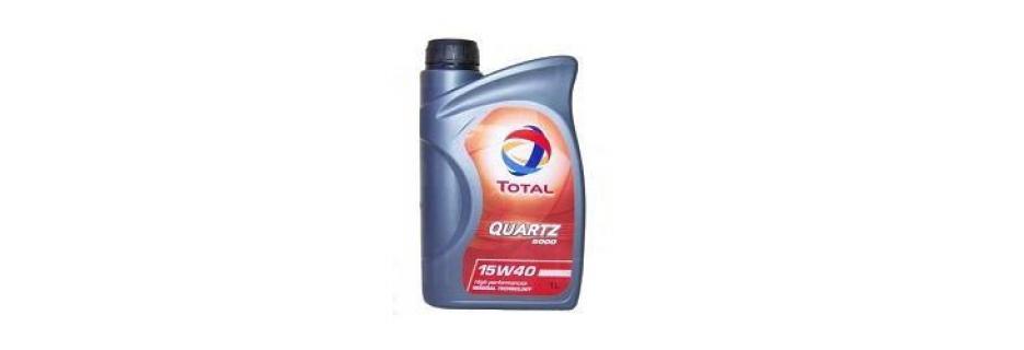 Моторно масло Total Quartz 5000 15W40 - 1 литър - Infocall.bg