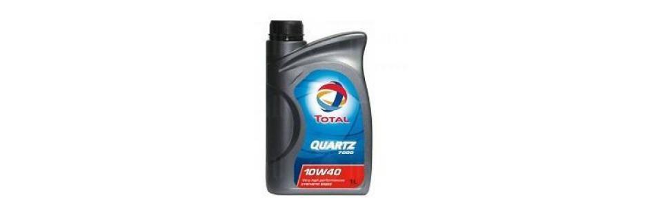 Моторно масло Total Quartz 7000 10W40 - 1 литър - Infocall.bg