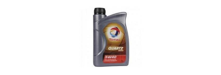 Моторно масло Total Quartz 9000 5W40 - 1 литър - Infocall.bg