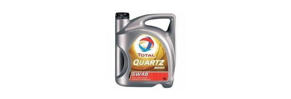Моторно масло Total Quartz 9000 5W40 - 5 литра - Infocall.bg
