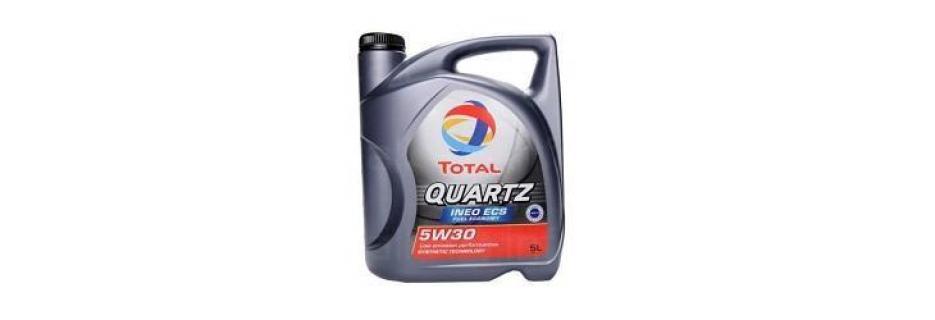 Моторно масло Total Quartz INEO ECS 5W30 - 5 литра - Infocall.bg