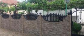 Бетонни колове и бетонови пана за огради в София-Челопечене
