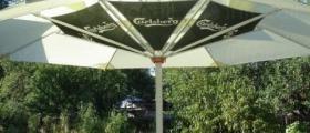 Градински чадъри и основи за тях в София-Горубляне - Инекс Дизайн ЕООД