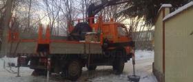 Камион с кран 4х4 в София