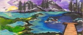 Картини върху платно Плевен - Йоана Миткова