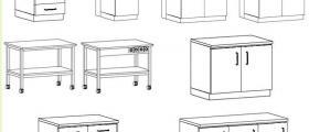 Лабораторни мебели в София-Искър