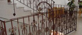 Парапети от ковано желязо в Шумен