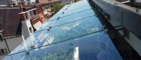 Стъклени навеси и козирки Пловдив