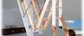Тавански стълби в София-Лозенец - Рууф Къмпани