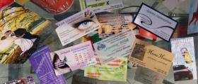 Визитки във Велико Търново и София-Младост