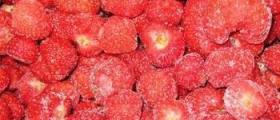 Замразени плодове в град Тутракан