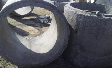 Бетонови пръстени в Калояново-Пловдив