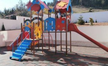 Детски площадки за игра на открито в Хасково