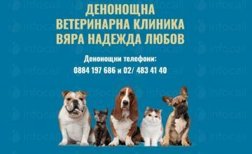 Диагностика на домашни любимци цени в София-Люлин - Вяра, Надежда, Любов