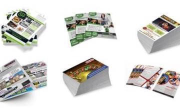 Флаери, визитки и листовки