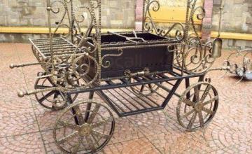 Градински мебели от ковано желязо в Асеновград, Пловдив и София-Люлин - Анрад