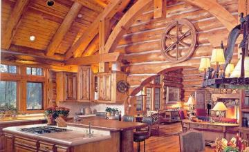 Интериор за дървени сглобяеми къщи в София-Горубляне - Норивахаус ООД