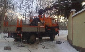 Камион с кран 4х4 в София - Васов и син ЕООД