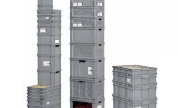 Пластмасови складови кутии в София - Ти Ес Инженеринг ООД