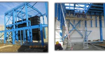 Проектиране, доставка и монтаж на стоманени конструкции