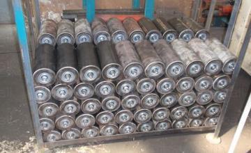 Ролки за гумено - лентови транспортьори България