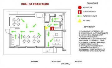 Схеми за евакуация в София-Люлин - Фламтех ЕООД