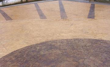 Щампован бетон в Раковски-Пловдив