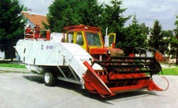 Зърнокомбайн УС-101