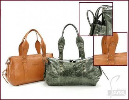 Дамски чанти от естествена кожа в Русе - Сана