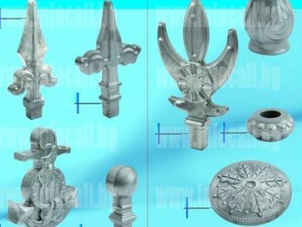 Декоративни метални елементи в Ямбол - СИНТЕР М АД