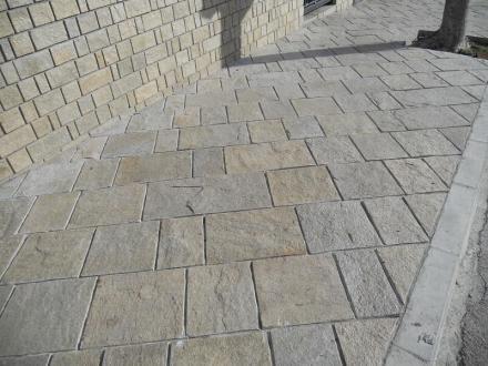 Каменна подова настилка в Гоце Делчев - Гнайс България