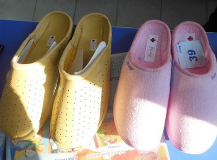 Ортопедични чехли в Кюстендил - Аптека Захариева
