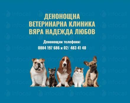 Прегледи на домашни любимци цени в София-Люлин - Вяра, Надежда, Любов