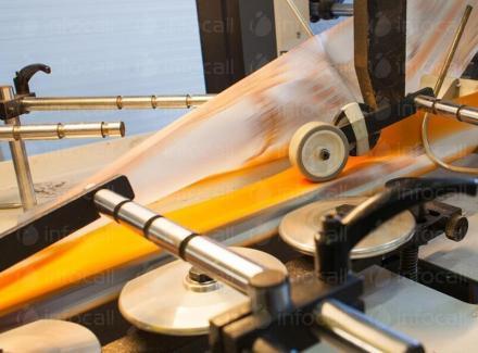 Производство фотополимерни форми за флексопечат върху полиетиленово фолио Пловдив - НОВИЗ
