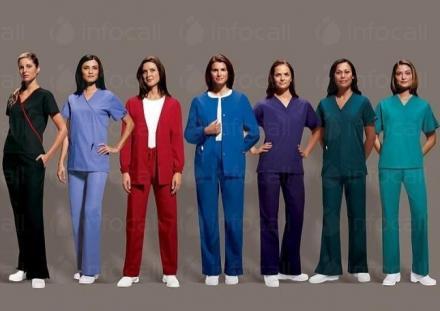 Работно облекло за медицински персонал в Перник - Оля Йорданова-2007 ЕТ