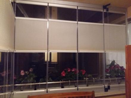 Щори за сгъваемите стъклени системи в Пловдив - Глас Системс