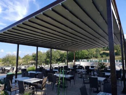 Слънцезащитни съоръжения тип Пергола Пловдив - Алутрейдинг ЕООД