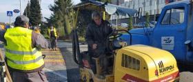 Асфалтиране и асфалт кърпежи в Бургас - Благоустройствени строежи ЕООД