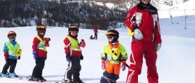 Бяло зимно ски училище в Пампорово