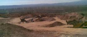 Добив на скална маса в Априлово-София