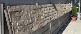 Глиц зидария в Ивайловград
