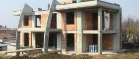 Груб строеж на сгради в София