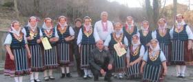Група за автентичен фолклор в Бяла