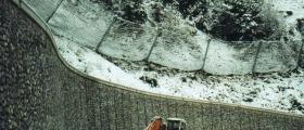 Изграждане на габиони в Русе